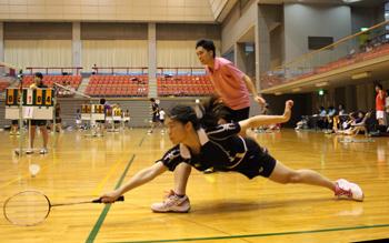 「『楽しく』と思いつつも、試合中はやっぱり力が入る」と話す水津さん