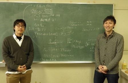 写真 福井さんと研究室の仲間