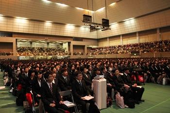 広島大学入学式