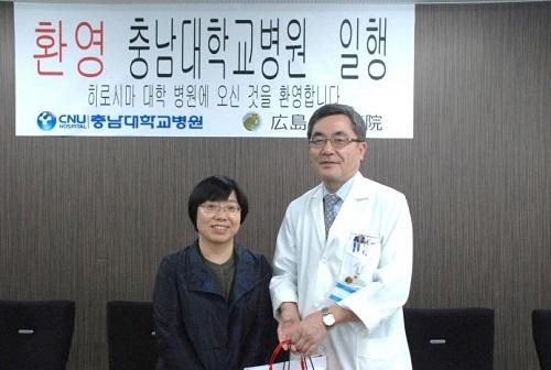 김정란(Kim Jeongran)教授と平川病院長