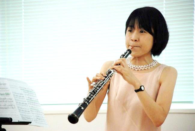オーボエ奏者 山口里美さん