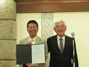 小池先生と吉村研究科長