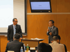 Chair: Dr. Taketo Obitsu (right)