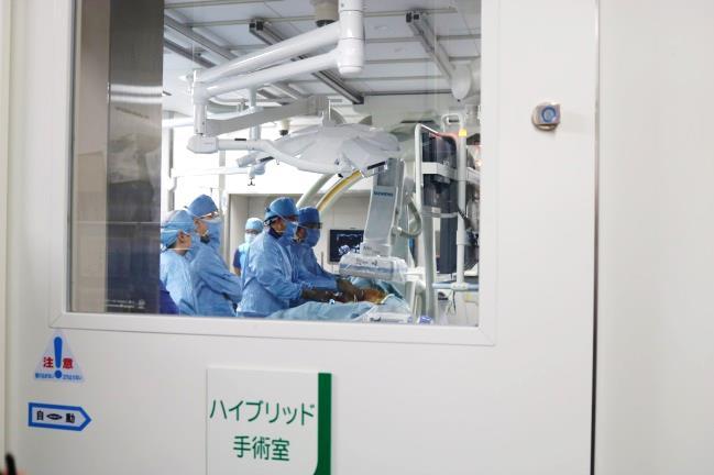 手術の様子(1)