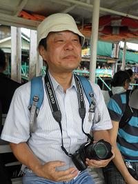 タイ・バンコク、ワット・アルンへの道すがら
