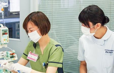 看護学専攻へのリンク