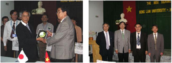ベトナム ノンラム大学と部局間交流協定を締結
