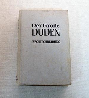 ドゥーデン ドイツ語と外来語に関する正書法