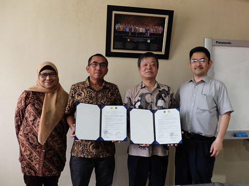 インドネシア甘味料・繊維作物研究所との部局間協定締結