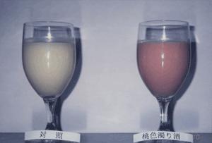 Cloudy sake